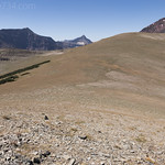 Ridgeline towards Red Mountain from Spot Mountain