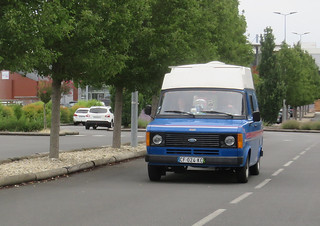 Ford Transit Mk2 Camper   by Spottedlaurel