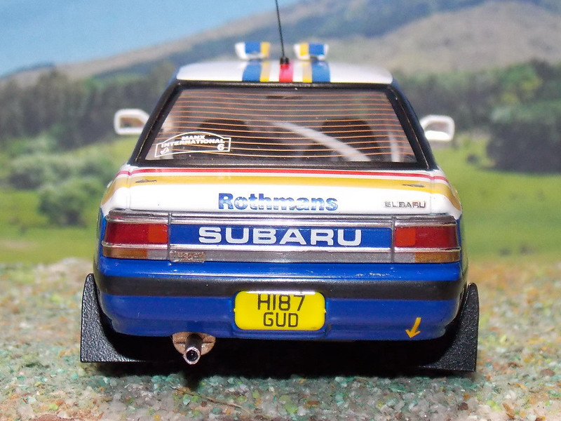 Subaru Legacy RS – Manx International Rally 1991