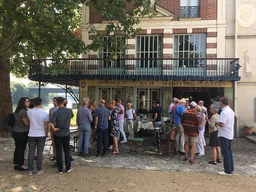 La Maison Fournaise, Birthday Party for Pierre