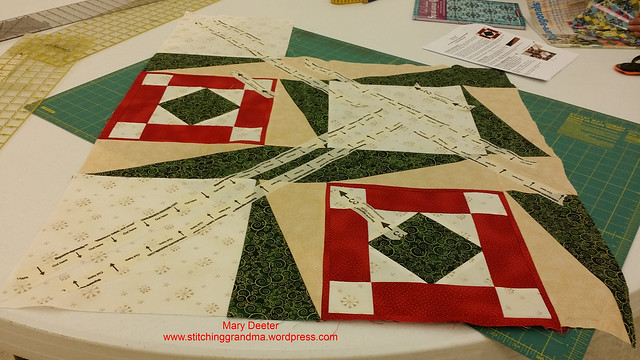 Square-agonals BEFORE the cut