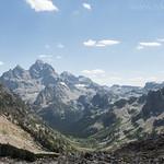 Cascade Canyon and Grand Teton