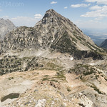 Mt. Woodring from Paintbrush Divide