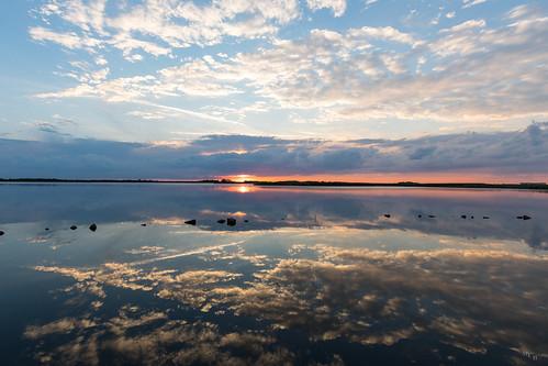 photosbymch landscape sunset sky clouds reflection backbaynationalwildliferefuge virginiabeach virginia usa canon 5dmkiv 2017