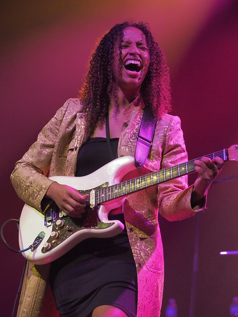 Jackie Venson, at the Palace Theater