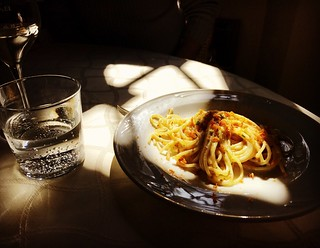 good-friday-lunch-spaghetti-bottarga-villa-roncalli-foligno-cr-ciutravel | by Concierge in Umbria