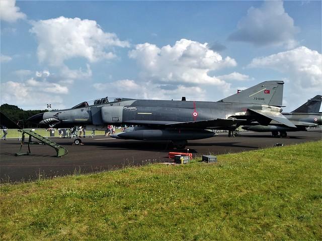 F-4E Phantom-II 73-1046 112Filo Turkish Air Force/ THK. Gilze-Rijen Open-House, the Netherlands. 21 June 2014.