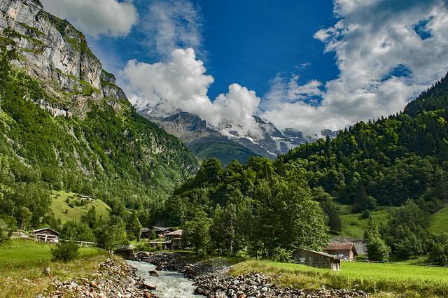 Stechelberg , Canton of Bern , Switzerland.No. 742.