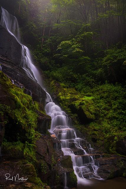 Tropical Eastatoe Falls
