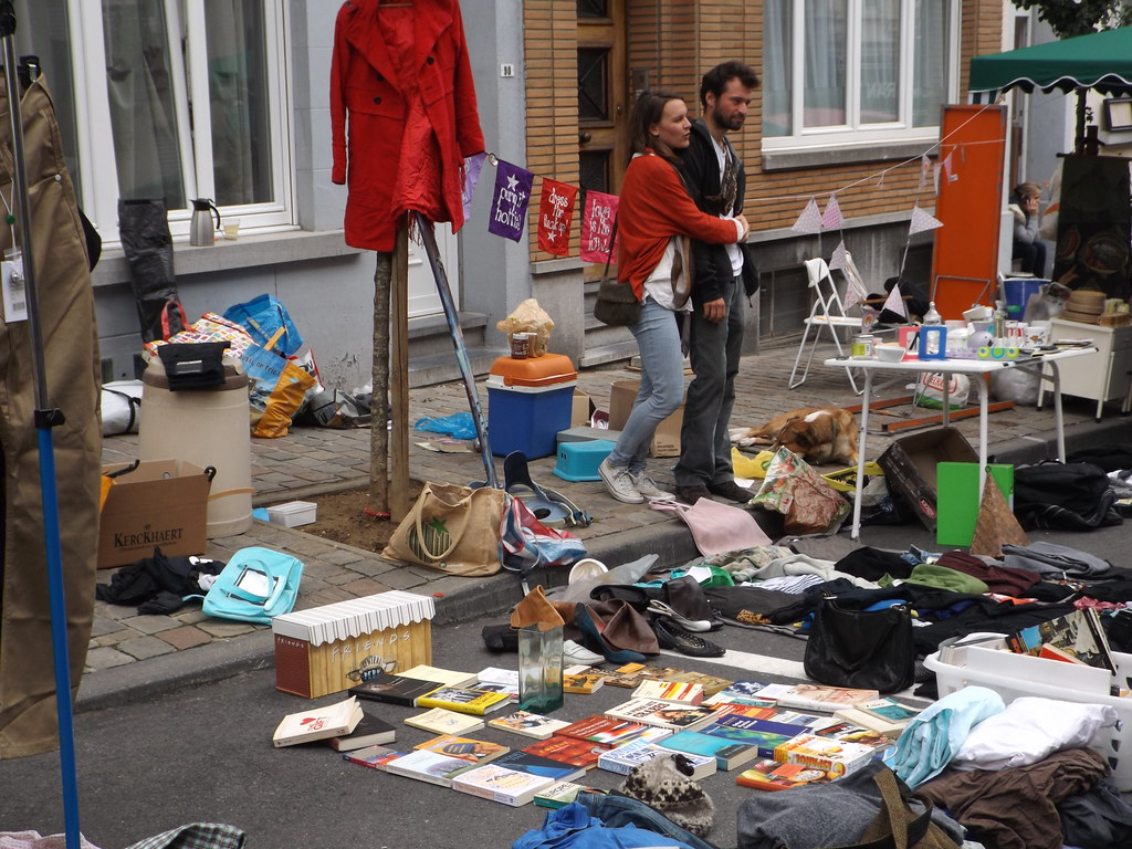 Brocante en Dailly (Bruselas)