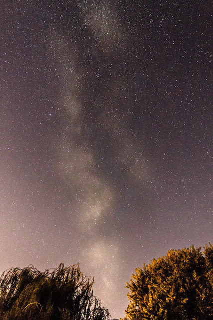 Milky Way from Oxfordshire, UK (2) 9:40 BST 09/09/17