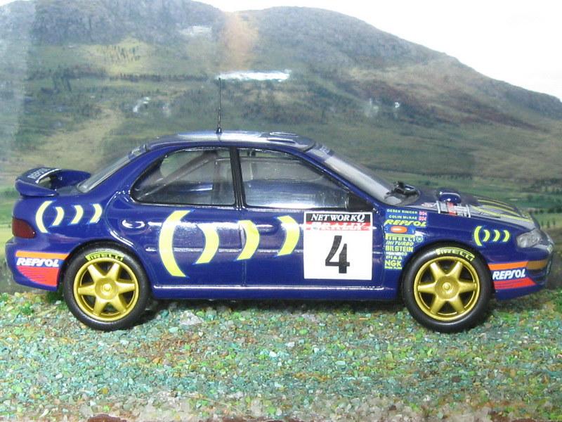 Subaru Impreza WRX – RAC 1995