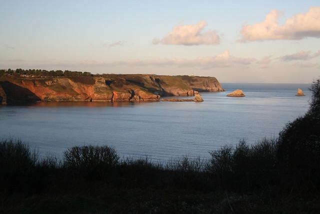 View from Sharkham Point, Devon