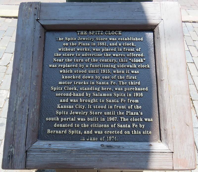 Spitz Clock (Santa Fe, New Mexico)
