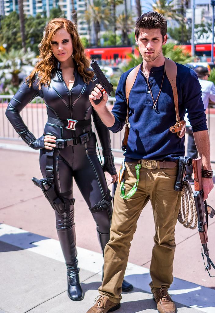 San Diego Comic Con 2015 Black Widow San Diego Comic Con Flickr