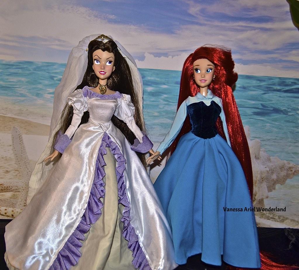 Vanessa Wedding Day Repaint 17 Inches & Ariel Kingdom Dres