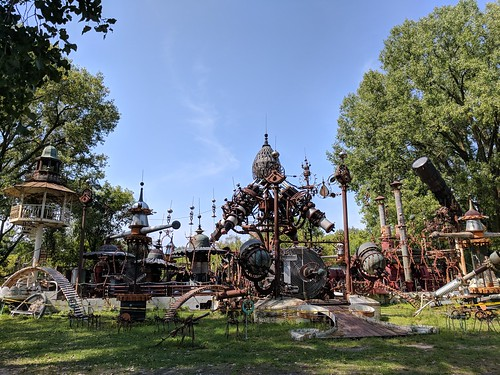 Dr. Evermor's Forevertron, North Freedom, WI | by sporst