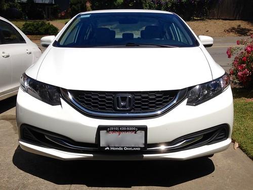 2014 Honda Civic New to us IMG_2321 Photo