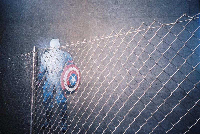 Avonmouth Captain America