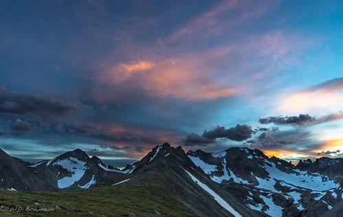 sunset indianpeaks niwotridge arikareepeak navajopeak apachepeak