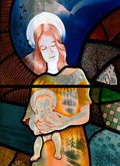 Our Lady of Uggeshall: the Blessed Virgin and the Christ child (Rachel Thomas, 2001)