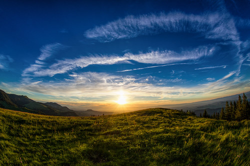 gurnigel 815f4l landschaft fisheye hdrdri sky canon 5dmkiii wolken sunset bern schweiz