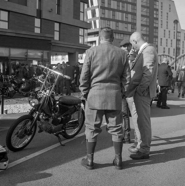 FILM - Distinguished Gentleman's Ride, Sheffield 2017-12