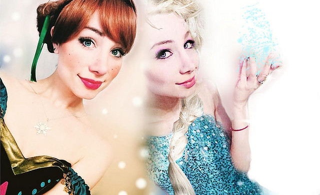 Anna & Elsa by Sarina Rose
