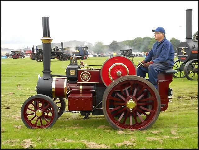 Medium Sized Steam Engine ..