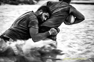 Rugby on the beach 01 | by Geor Hannert