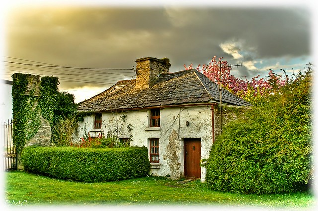 The old gatelodge to the Bishop's Palace. Raphoe, Co Donegal