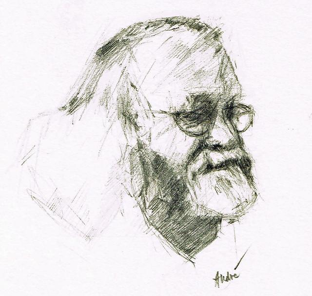 Portrait of Jan Theuninck by André van der KAAIJ, 2015