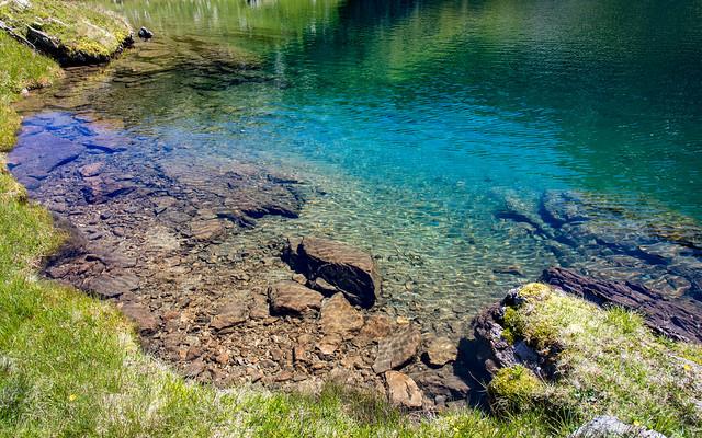 Les couleurs de l'eau