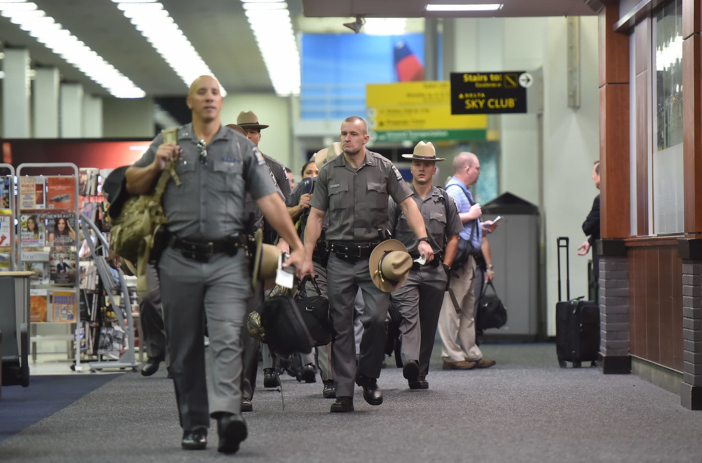 NYS Troopers and NYPA Workers Departing to Puerto Rico   Flickr