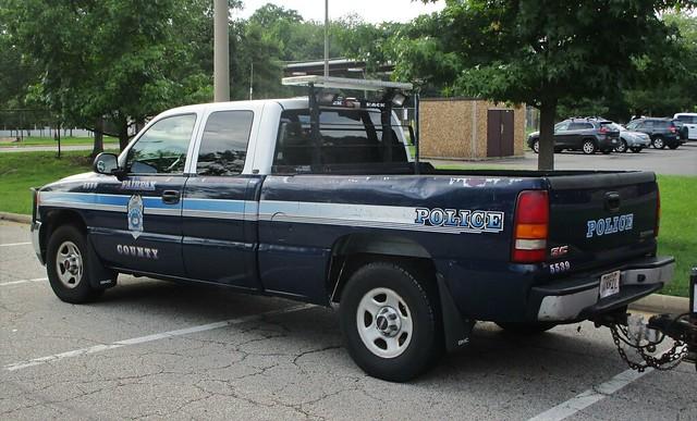 Fairfax County Police Department 2001 GMC Sierra Pickup
