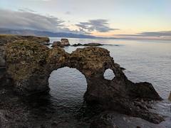Arch near Hellnar in Snæfellsnes