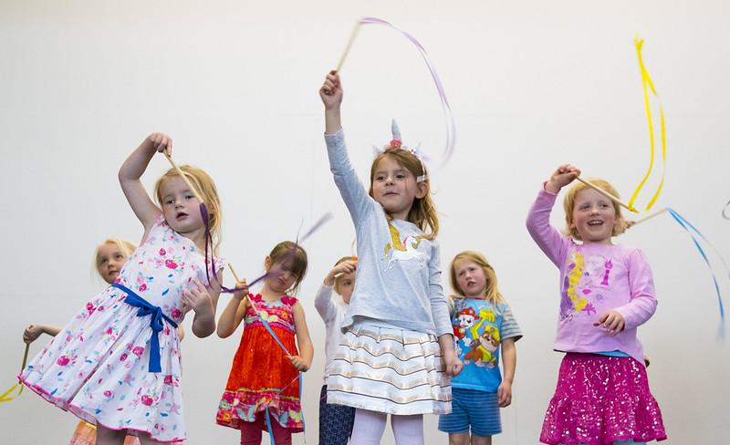 Kids from Pebbles Preschool