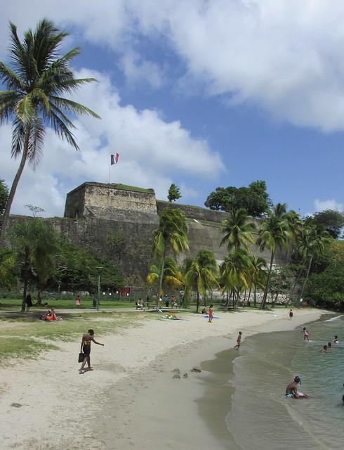 La Francaise Beach - Fort de France
