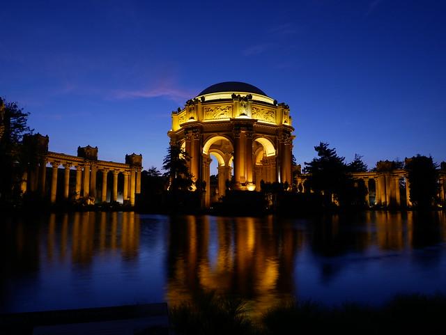 The Palace of Fine Arts, San Francisco, CA