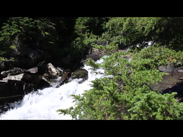 3999 Video of the waterfall on Railroad Creek below Lyman Lake