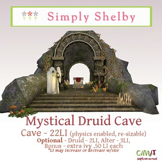 Simply Shelby Mystical Druid Cave