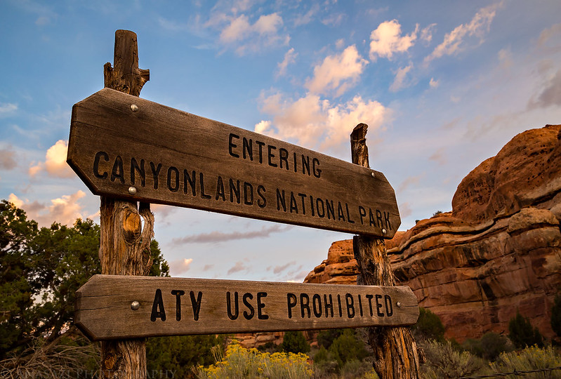 Entering Canyonlands