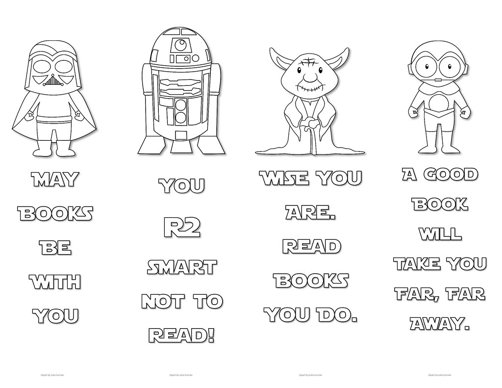 graphic regarding Star Wars Bookmark Printable identify Star Wars Colouring Bookmarks - Preset 3 Print All those lovely Sta