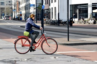 Cycling Woman - Eindhoven | by FaceMePLS