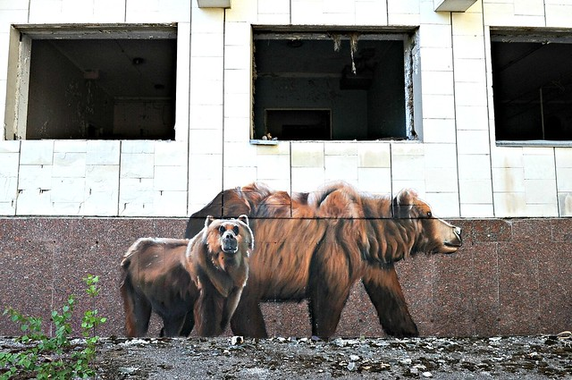Art by Bane & Pest in Pripyat