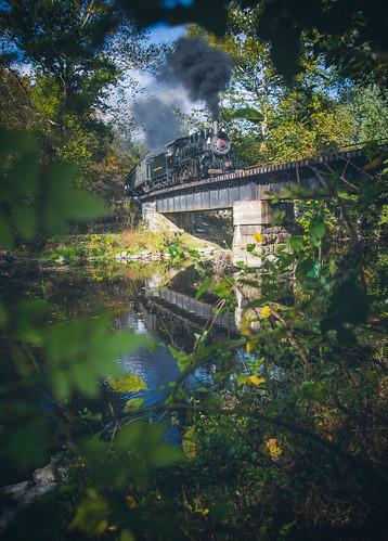 14 bridge cpl evrr evrr11 everettrailroad holidaysburg passenger bokeh excursion passengertrain railroad sigma sigma35mm sigmaart35 steam steamtrain trains
