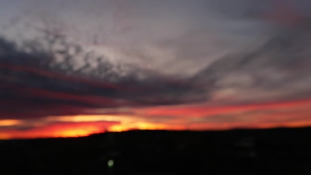 Sunset after Video G7X Mark Il