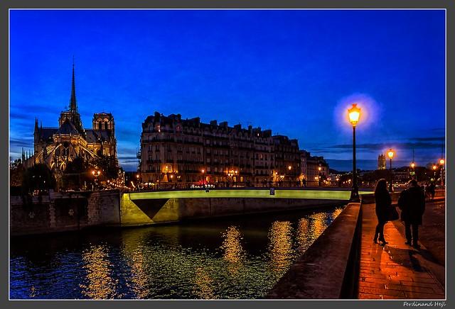 Paris_Ile de la Cité_Catedrale Notre-Dame_4e Arrondissement