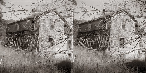 stereo stereorealist virginia middlebrook abandoned bw film