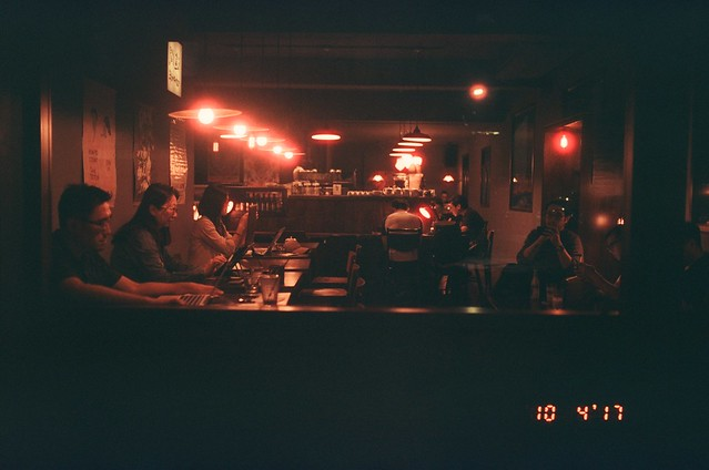 這間咖啡 台北 Taipei, Taiwan / KONO! Kolorit Tungsten / Canon EOS 7